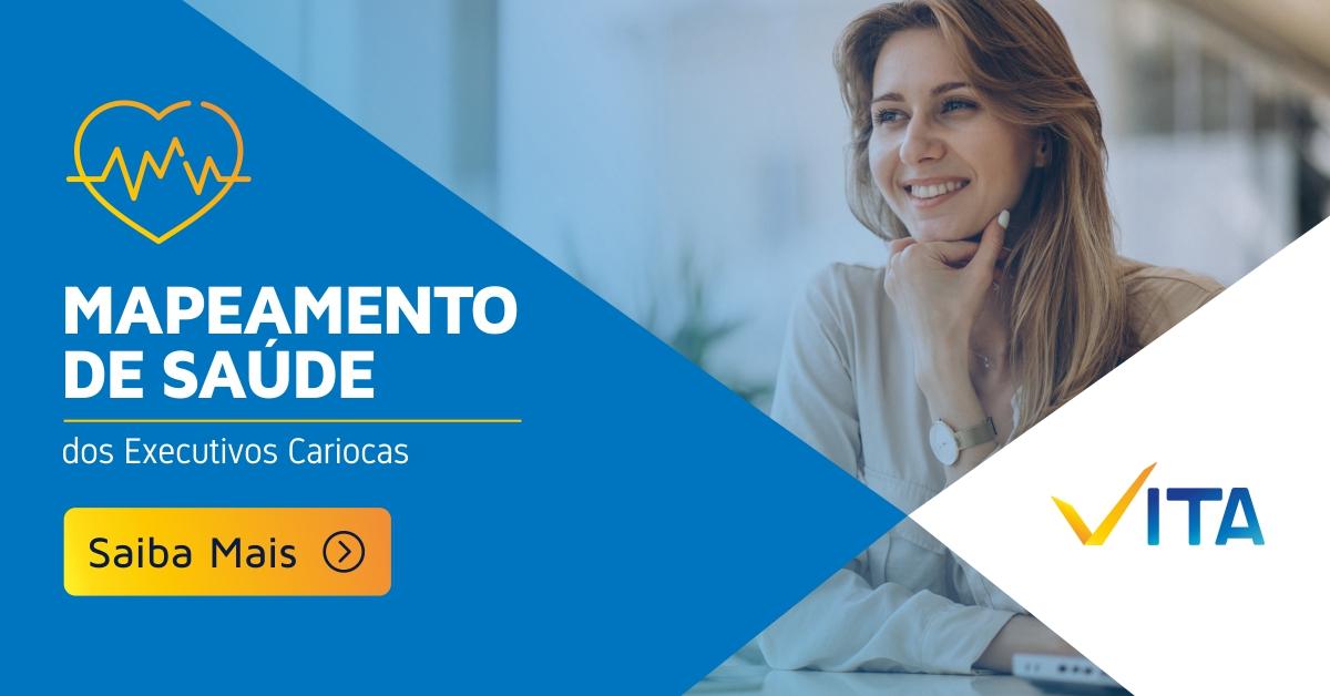 """Ebook """"Mapeamento de Saúde dos Executivos Cariocas"""""""